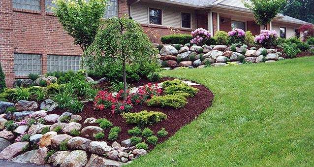 Landscaping With Stone Mulch Pictures : Landscaping with rocks tampa bay ponds